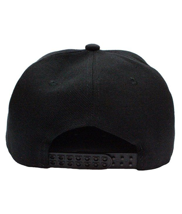 307afe74894 TakeInCart Black Read 3D Snapback Hip Hop Cap - Buy Online   Rs ...