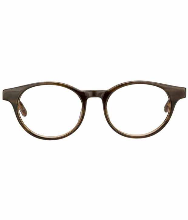 da8b103094d Tommy Hilfiger Brown Non Metal Round Eye Glasses - Buy Tommy ...