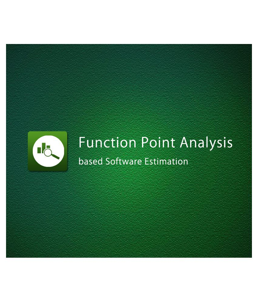 Function Point Analysis Fpa Based Software Estimation E