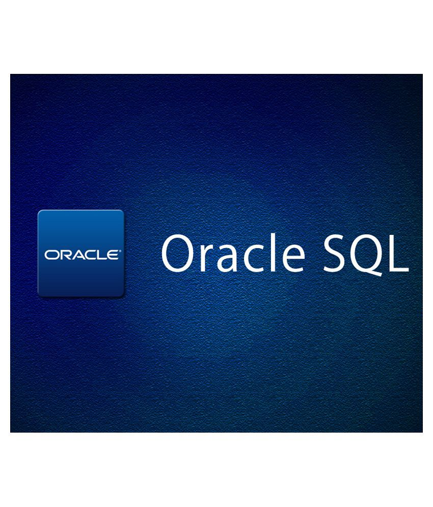 Oracle Sql Introduction To Oracle Sql E Certificate Course