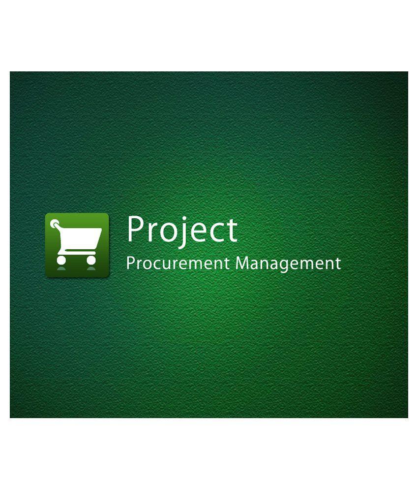 Project Procurement Management e Certificate Course Online Video Training
