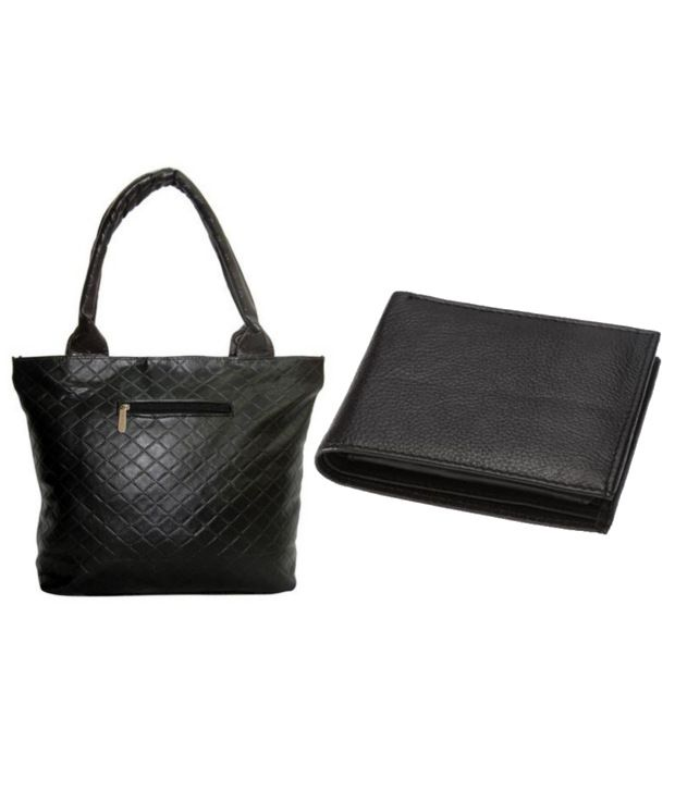 Borse Shoulder Bag And Wallet Combo
