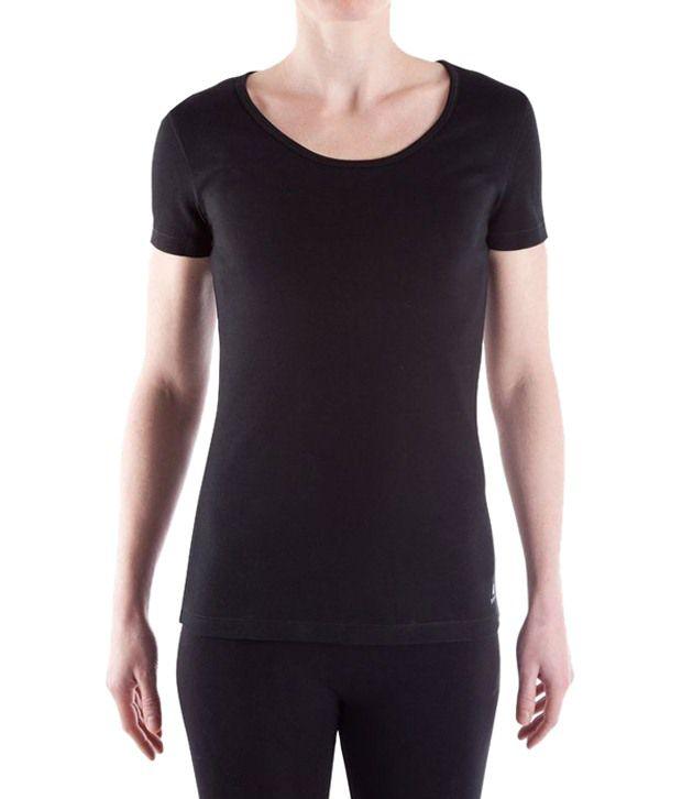 Domyos Black Fitness T Shirt