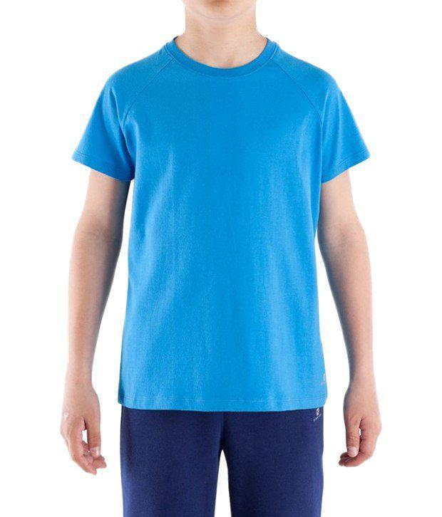 Domyos Sky Blue Fitness T Shirt