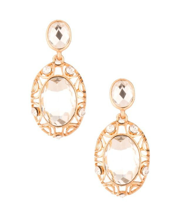 Voylla Enthralling Style Diva Hanging Earrings