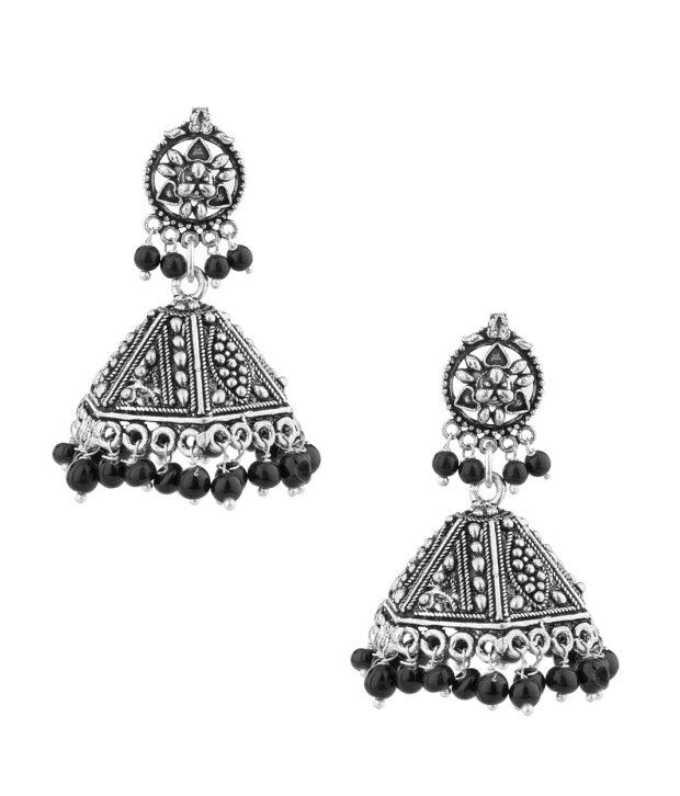 Voylla Spectacular Antique Jhumkis