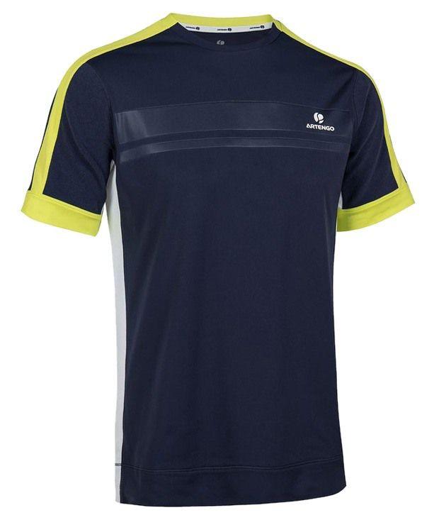 Artengo Mind Blowing Navy Unisex Tennis T Shirt
