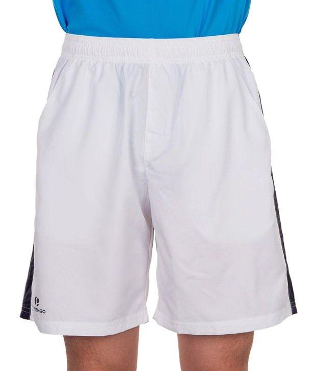 Artengo White Tennis Shorts for Men