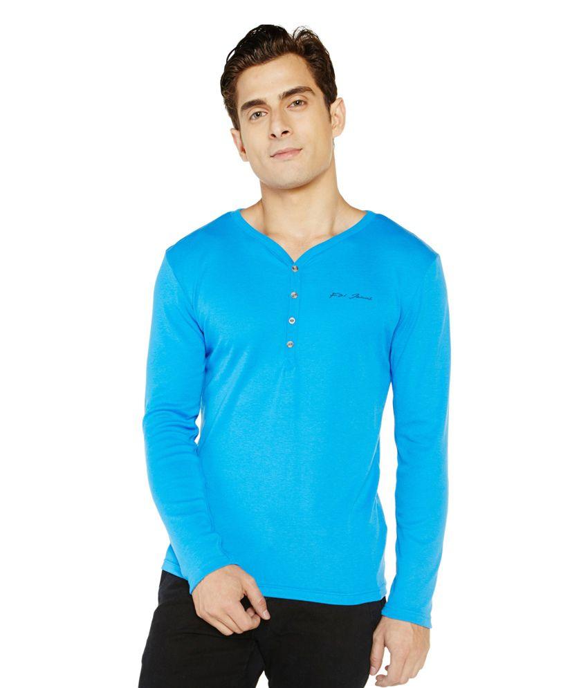 Globus Blue T-shirt For Men