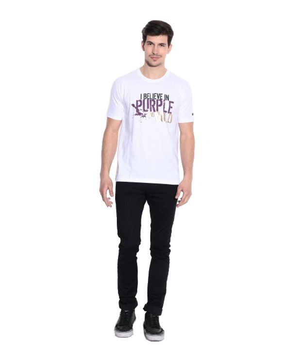 Kolkata Knight Riders Collection White T-shirt