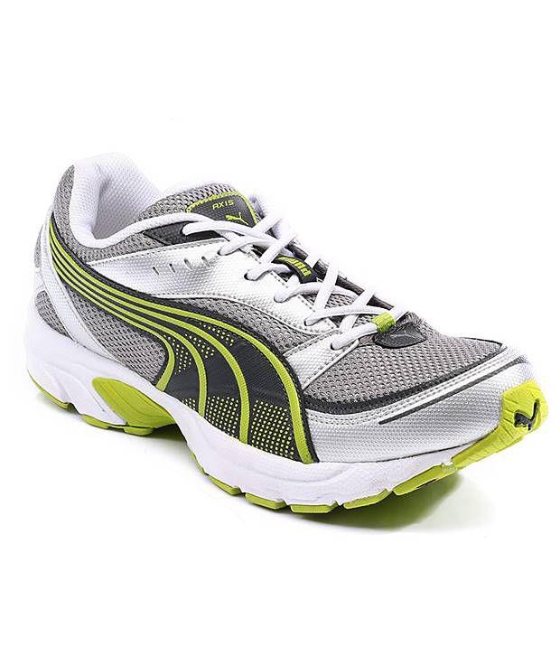 Puma Gray Sports Shoes