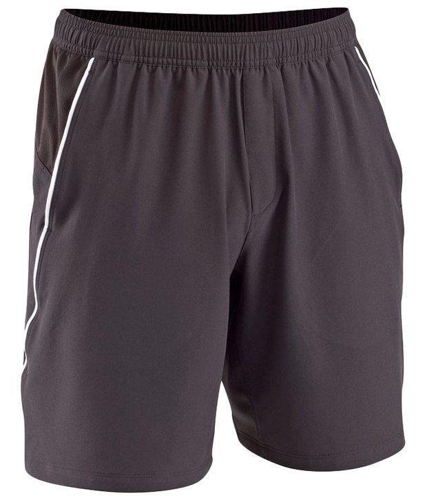 Artengo Breathable Brown Tennis Shorts for Men