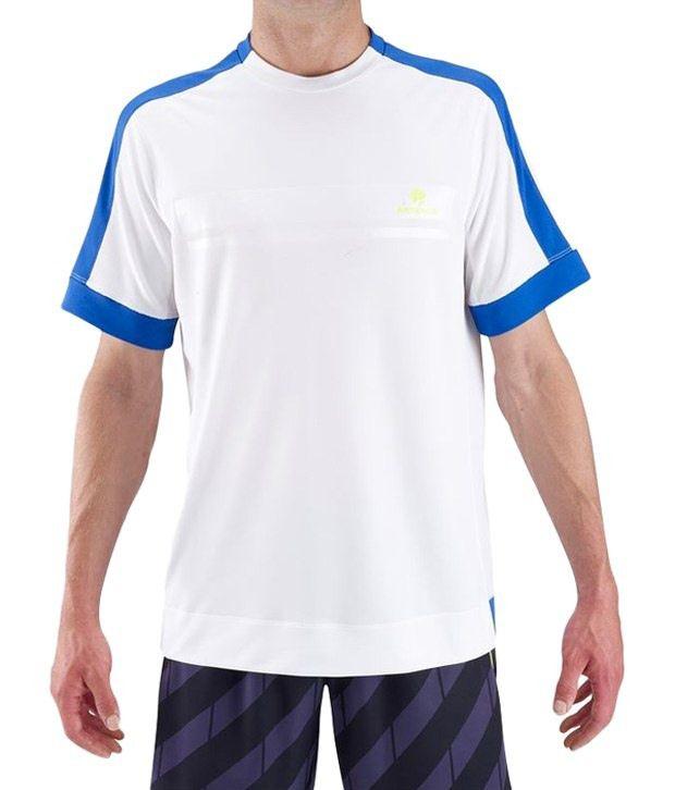 Artengo White Tennis T Shirt for Men