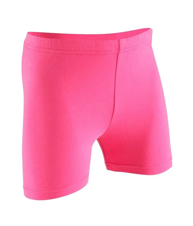 Domyos Girl Pink Shorts Fitness Apparel