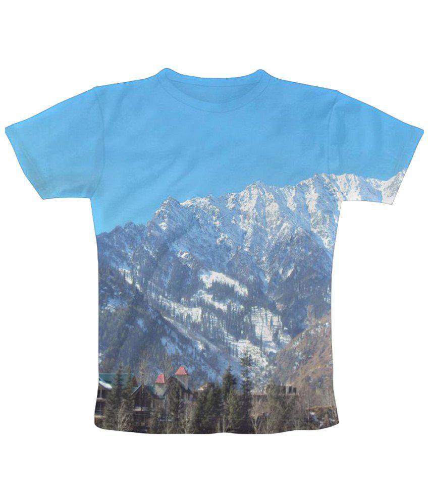 Freecultr Express Devbhoomi Manali Graphic Multicolour Half Sleeve T Shirt