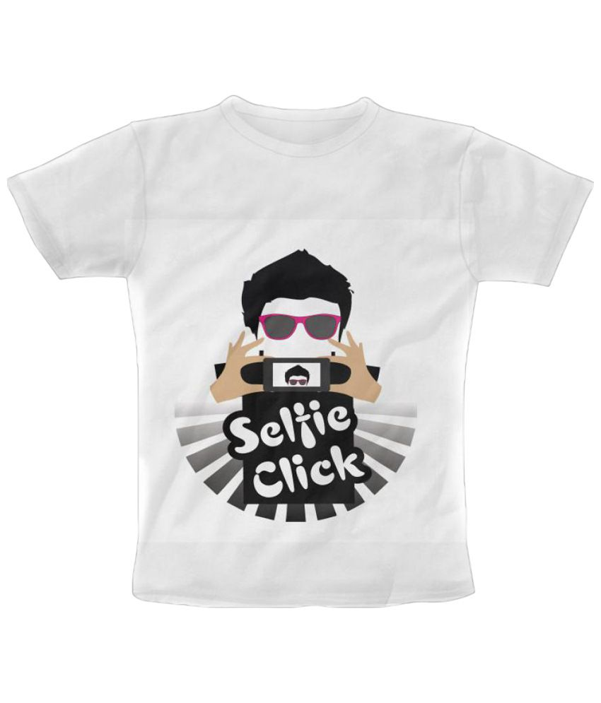 Freecultr Express Selfie T Shirt Graphic Multicolour Half Sleeve T Shirt