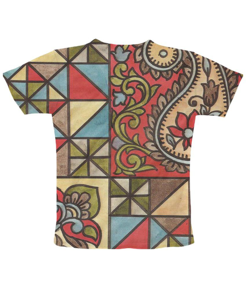 Freecultr Express Vintage Graphic Multicolour Half Sleeve T Shirt