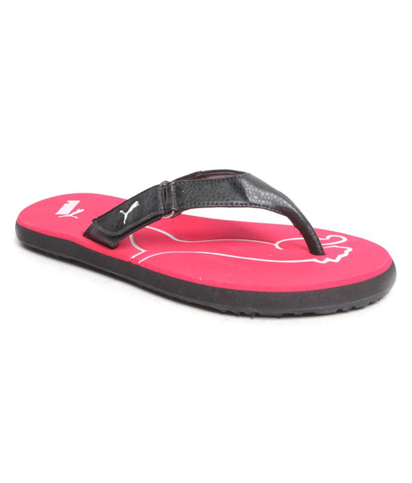 puma red flip flops snapdeal price casual shoes deals at. Black Bedroom Furniture Sets. Home Design Ideas