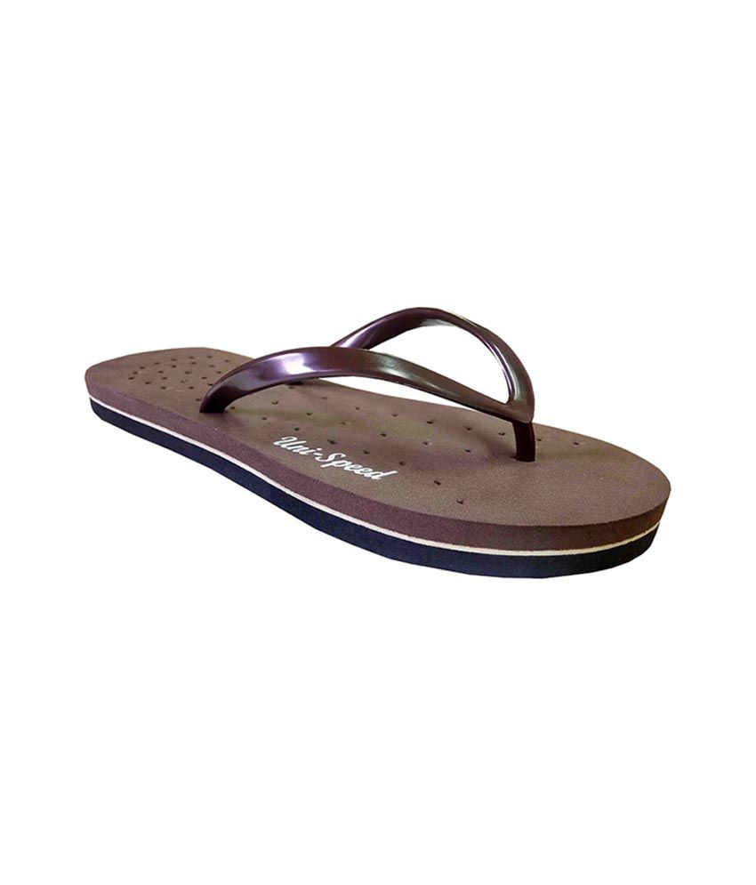 Unispeed Foot Relief Super Soft V-Strap Flipflops
