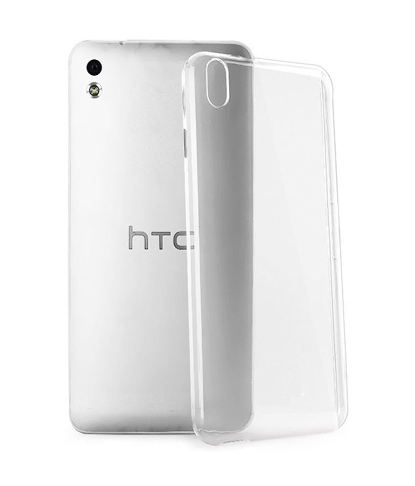 100% authentic 1297b 78f43 AryaMobi Back Cover for HTC Desire 516 - Thin Soft Silicon ...