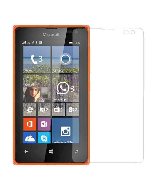 KE High Quality Tempered Glass Screen Guard For Nokia 532