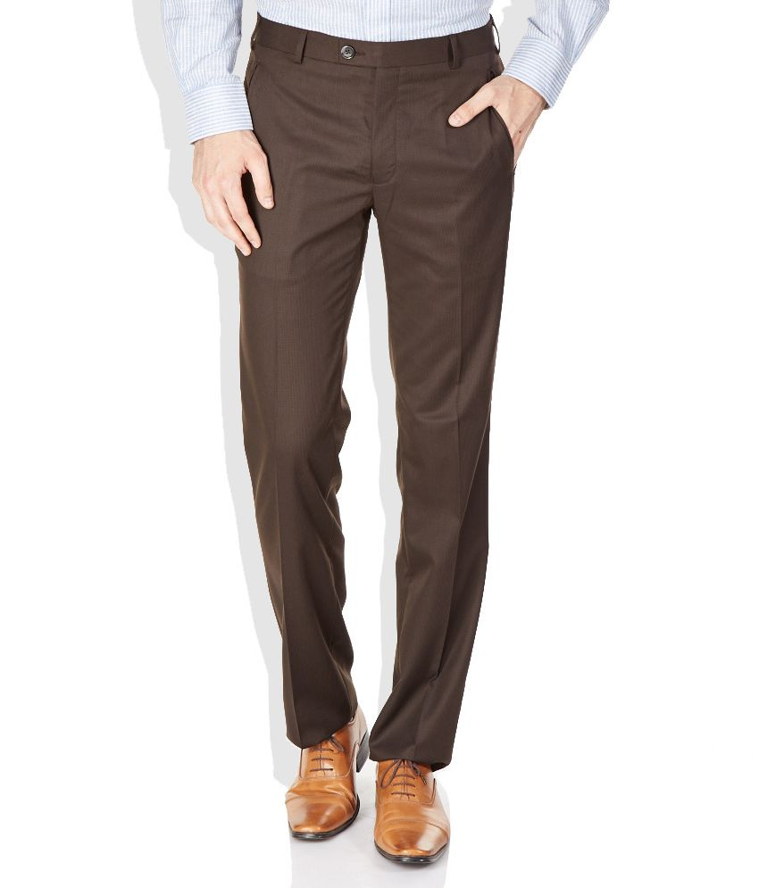 Raymond Brown Contemporary Fit Formal Trousers