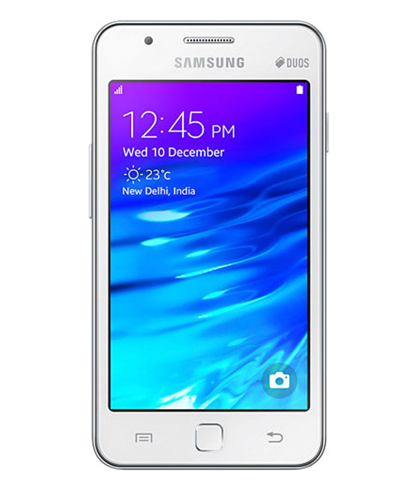 samsung z1 z130h white mobile phones online at low prices snapdeal india. Black Bedroom Furniture Sets. Home Design Ideas