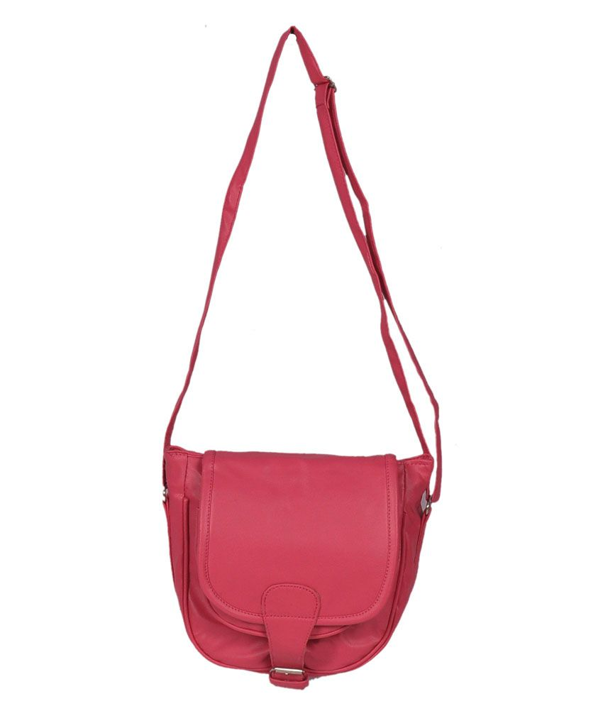 Speed Dot Pink P.U. Sling Bag - Buy Speed Dot Pink P.U. Sling Bag ...