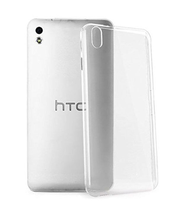 TOs Premium Quality Back Cover for HTC Desire 816 - Clear