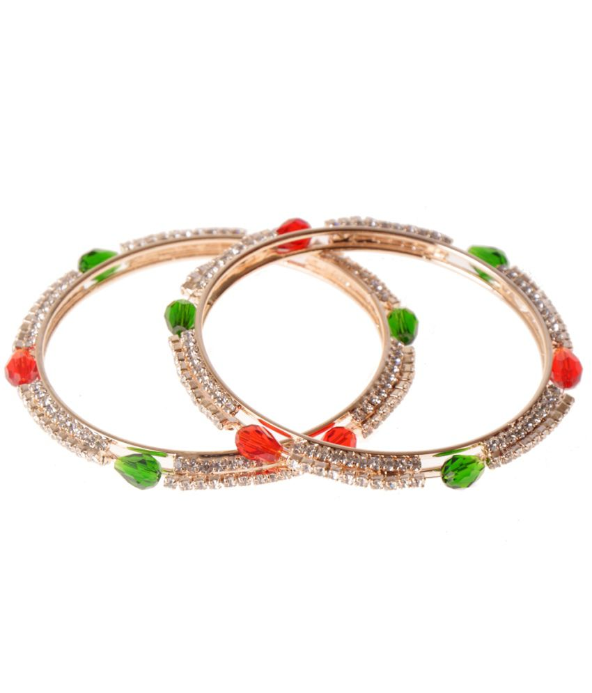 Zakasdeals Multicolored Antique Women's Fashion Bangle