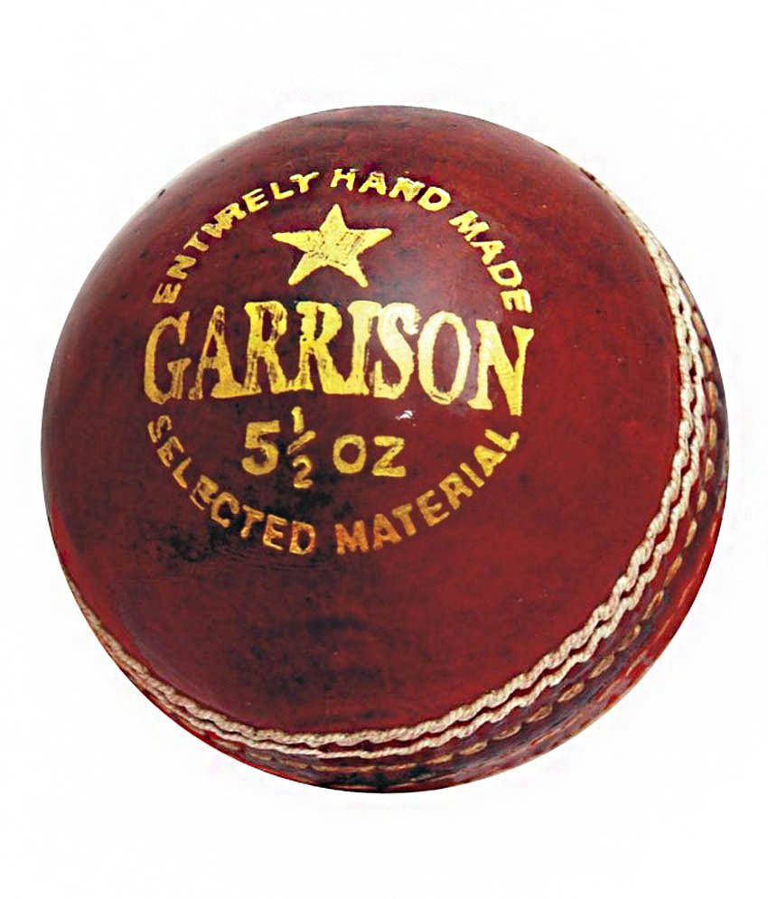 CW Garrison Cricket Ball Leather (In Pack Of Six Balls)