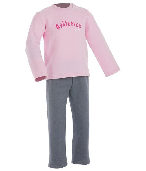 Domyos Baby Tracksuit For Girl