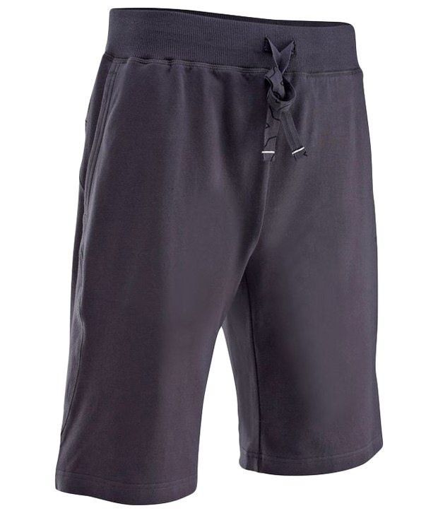 Domyos Dark Gray Fitness Shorts For Men