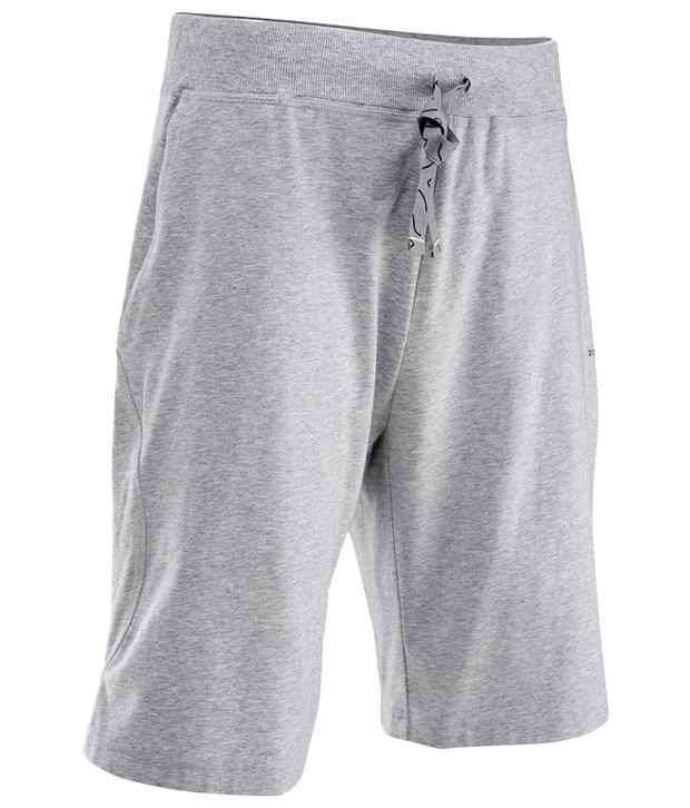 Domyos Gray Fitness Shorts For Men