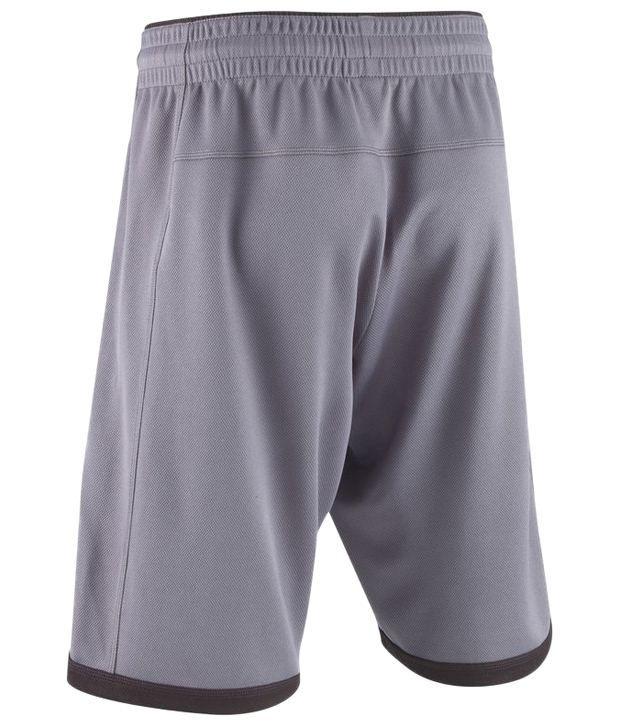 Domyos Gray Mesh Fitness Shorts For Men