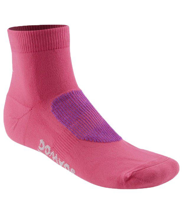 Domyos Pink Cardio Socks For Women