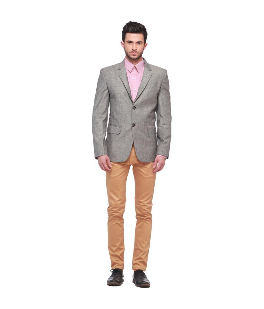 Jogur Gray Formal Blazer