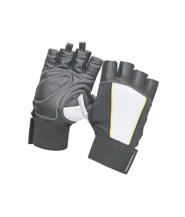 Nivia New Leather Sports Gloves  L  Gg 704