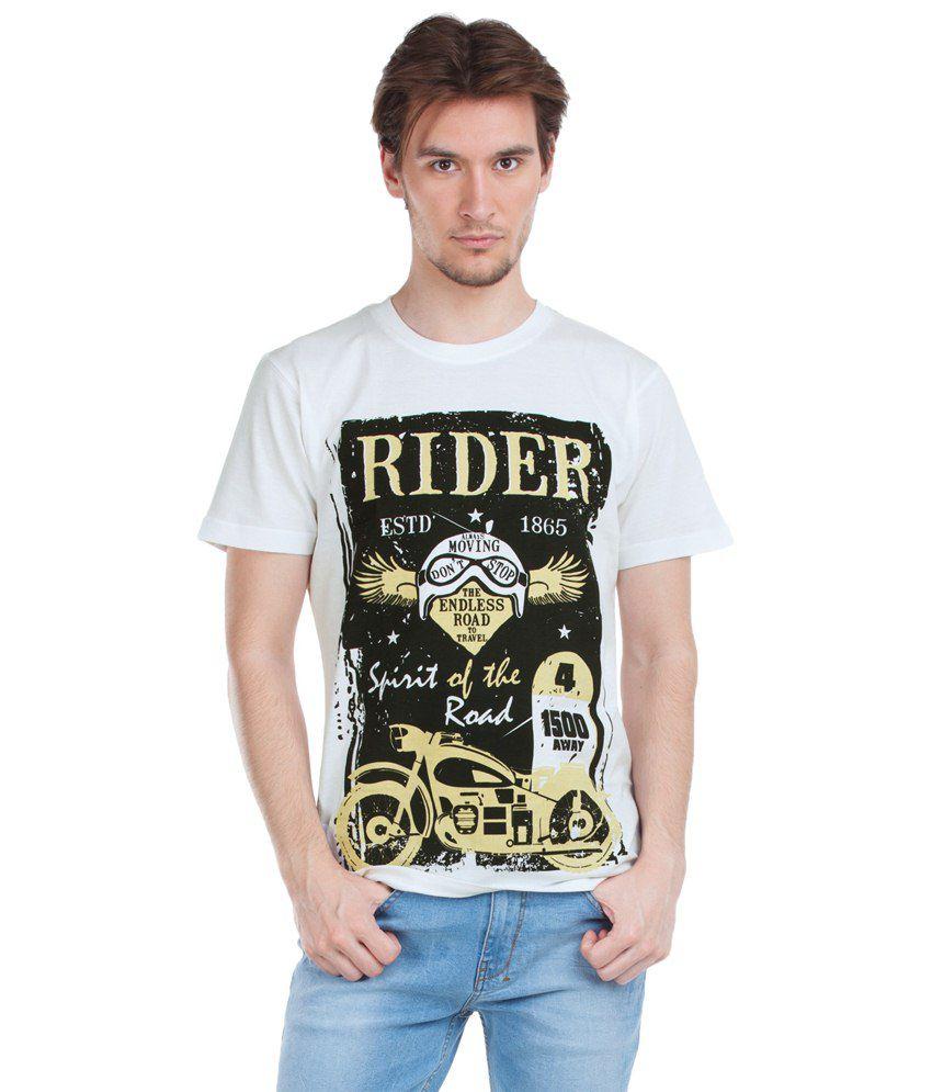 Zovi White Graphic T Shirt