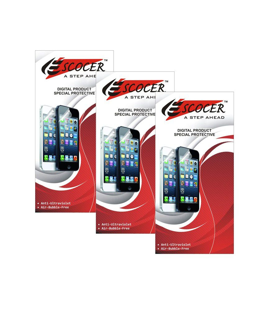 Micromax Bolt A51 Clear Screen Guard by Escocer