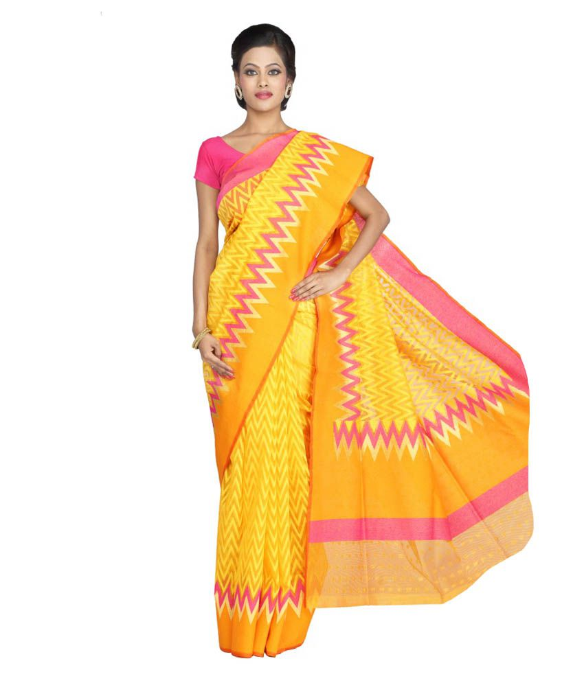 Milap Silk Embroidered Saree With Blouse Piece