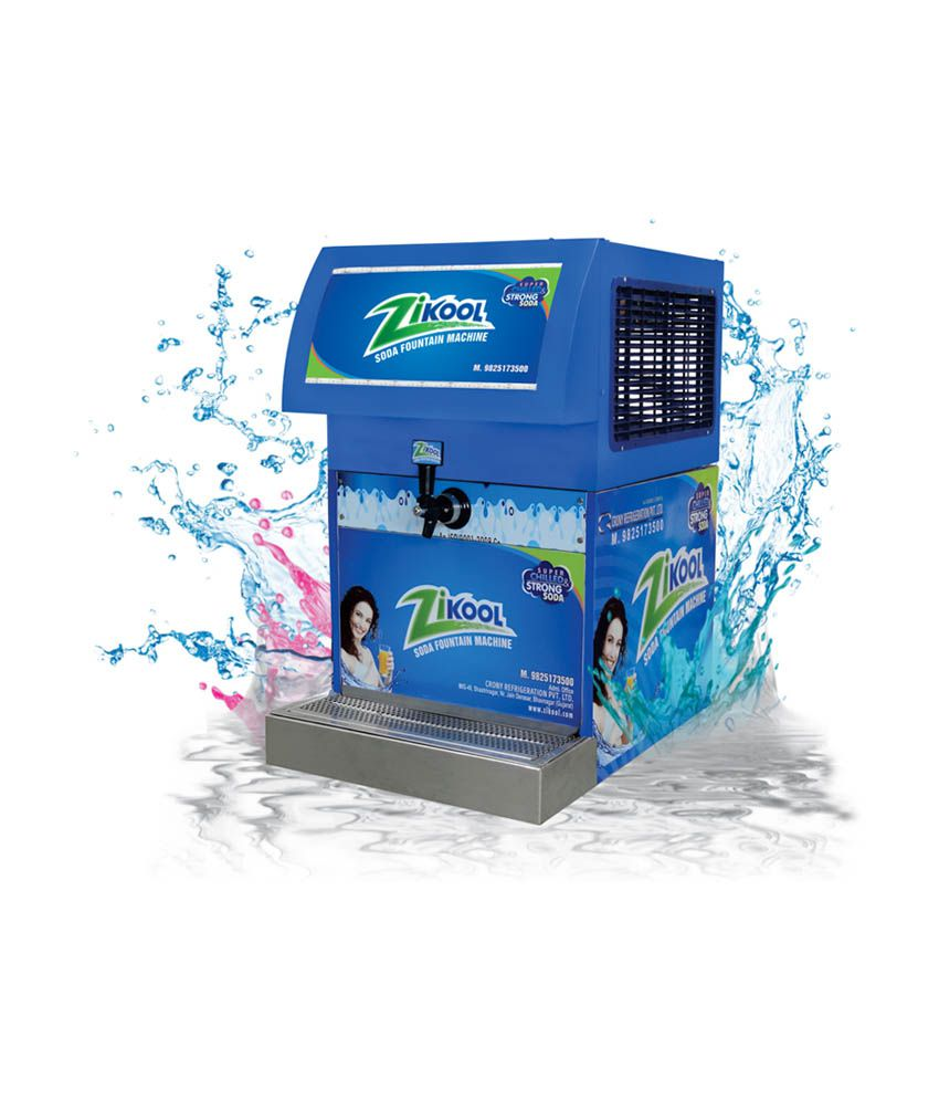 Zikool Plain Stainless Steel Soda Fountain Machine: Buy ...