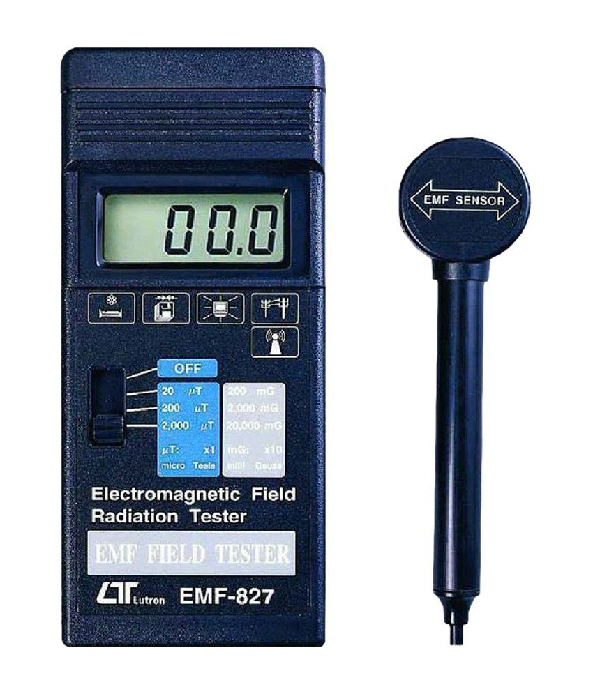 Magnetic Field Tester : Lutron electronic electromagnetic field tester emf