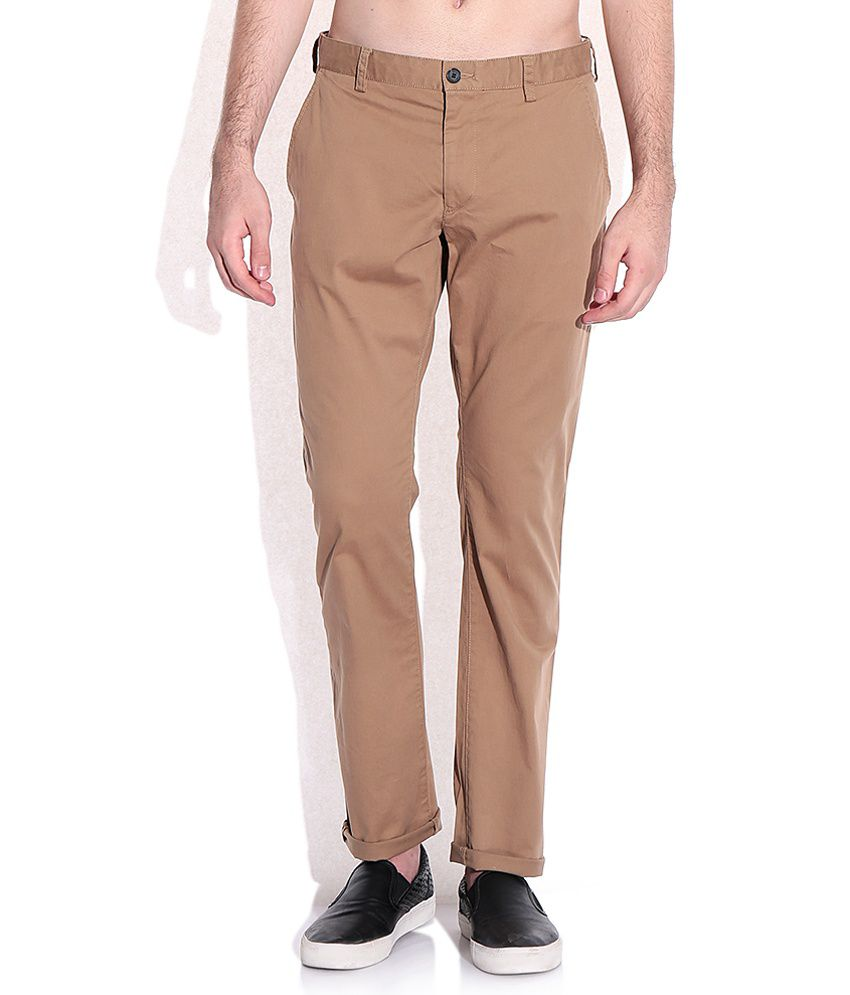 French Connection Brown Trousers