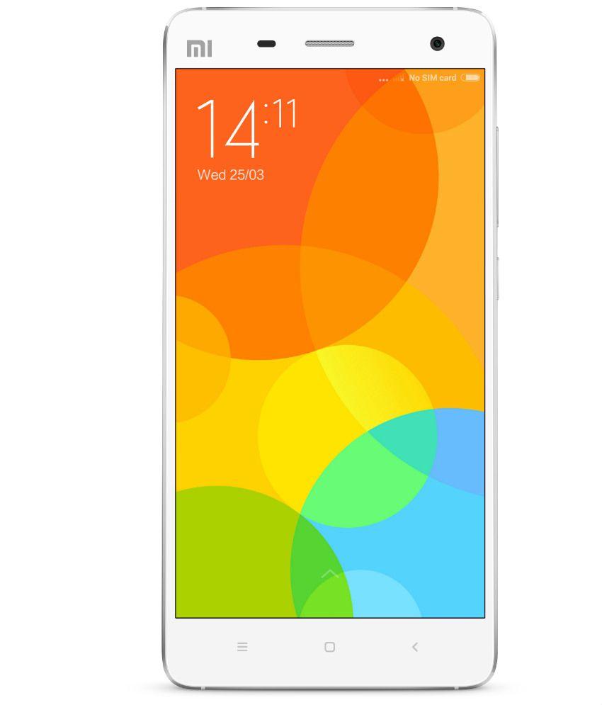 Xiaomi Mi4 (16GB, White)