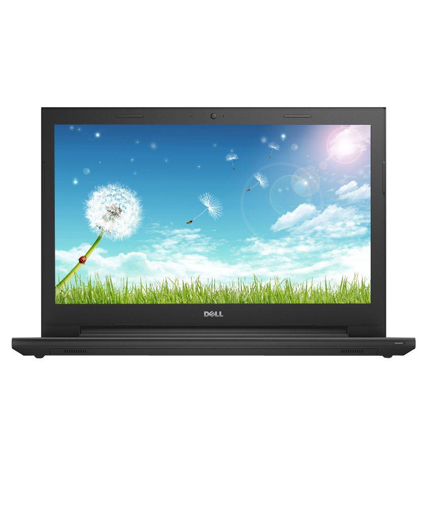 Dell Inspiron 15 3541 Notebook (AMD E1 6010 APU- 2GB RAM- 500GB HDD- 39.62cm (15.6) Screen- Win 8.1) (Black)