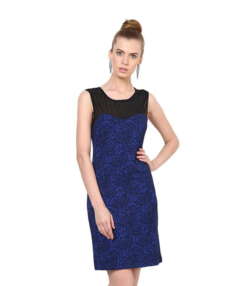cfd21eb03e76 Harpa Blue Others Printed Dresses - Buy Harpa Blue Others Printed Dresses  Online at Best Prices in India on Snapdeal