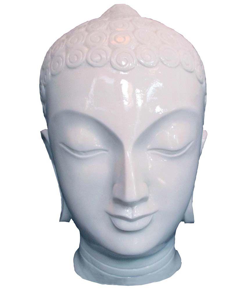 Shivani Art Buddha Idol Face Buddha Head Buddha Hand Made