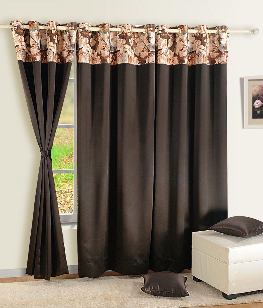 Swayam Single Window Blackout Eyelet Curtain