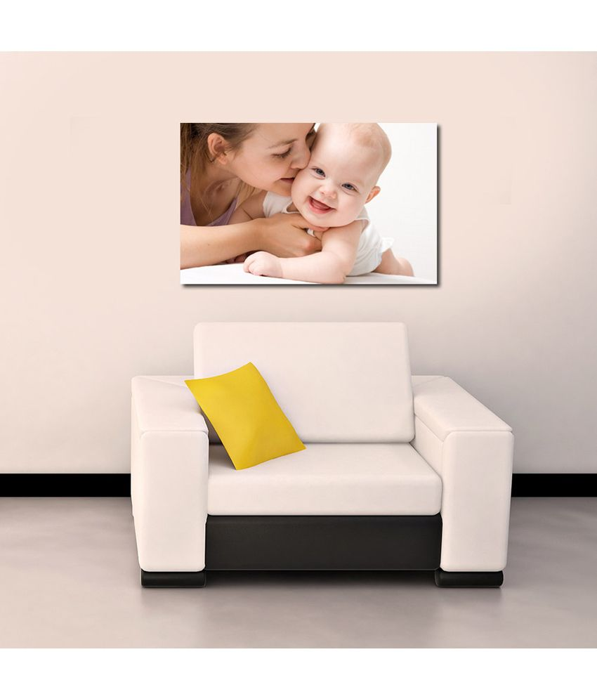 999Store Loving Baby With Mom Printed Modern Wall Art Painting - Large Size